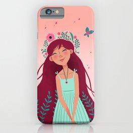 May Queen iPhone Case