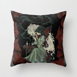 Tragically Ever After: Mina Throw Pillow