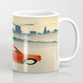 Red Polski Fiat  Coffee Mug