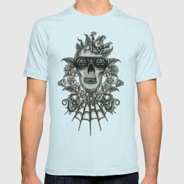 Brown Skully  T-shirt