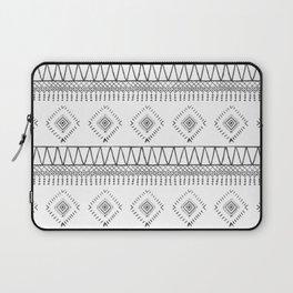 Gray Boho Aztec Laptop Sleeve