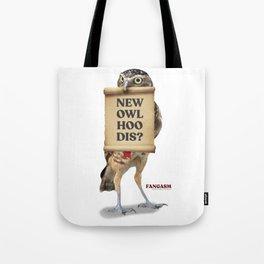 New Owl Hoo Dis Tote Bag