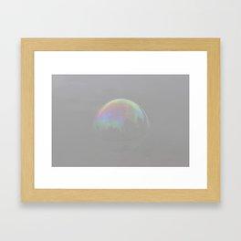 Bubble Fade Framed Art Print