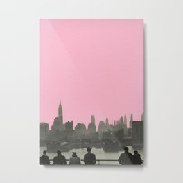 New York Nights Metal Print