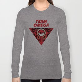 team omega ruby Long Sleeve T-shirt