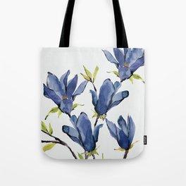 Blue Flowers 3 Tote Bag