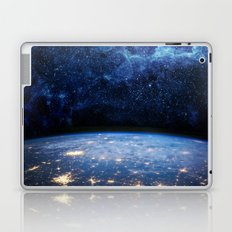Earth and Galaxy Laptop & iPad Skin