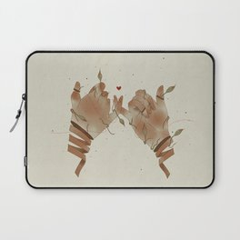 Red String of fate Laptop Sleeve