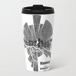 Hamburg Map Travel Mug