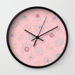 I SEE YOU - MULTICOLOR Wall Clock