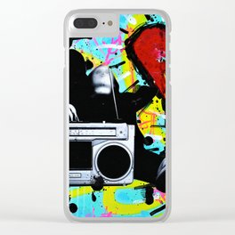 Blaster Clear iPhone Case