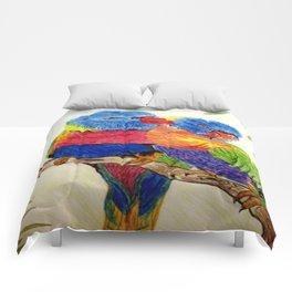 Aboriginal Art - Birds Comforters