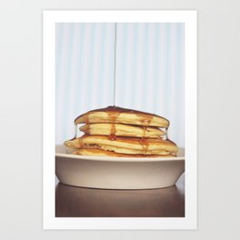 Wake Up and Smell the Pancakes Art Print