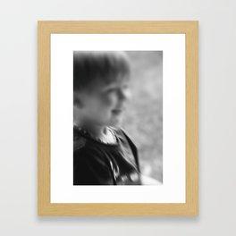 Lachen 2 Framed Art Print