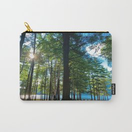 Tree Grove & Lake Sunrise Carry-All Pouch