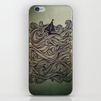 sail iPhone & iPod Skins featuring Sail by Meyyen