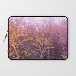Pink Goldenrod Laptop Sleeve