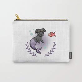 Mermaid Pit Bull 2 Carry-All Pouch
