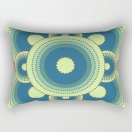Aerial Cactus Rectangular Pillow