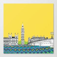 London Town Canvas Print