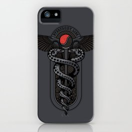 Snakes on a Cane iPhone Case