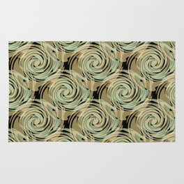 Abstract pattern , spiral. Rug