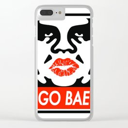 Go Bae Clear iPhone Case