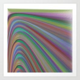 Artificial Noise Art Print
