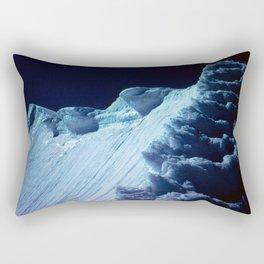 NATURE'S WONDER #2 - Glacier in the dark #art #society6 Rectangular Pillow