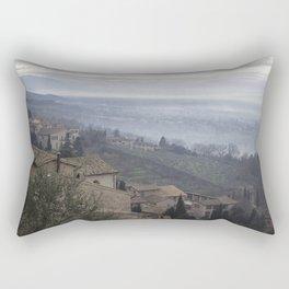 Hillside in Assisi, Italy Rectangular Pillow