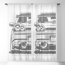 R34 Sheer Curtain
