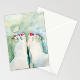 First Pedicure Stationery Cards