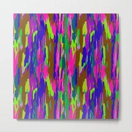 Rainbow Eucalyptus Tree Bark No. 2 Metal Print