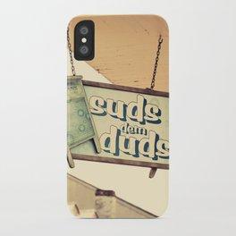 Suds dem Duds iPhone Case