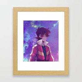 Space Warrior Framed Art Print