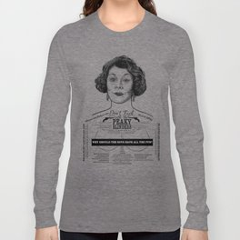 Aunt Polly 'Why Should The Boys...' Ink'd Series Long Sleeve T-shirt