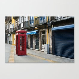 old telephone cell Canvas Print