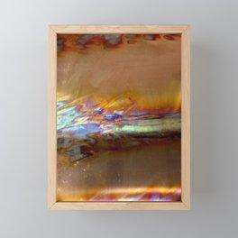 copper blaze Framed Mini Art Print