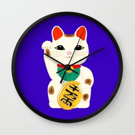 I'm Feeling Lucky Wall Clock