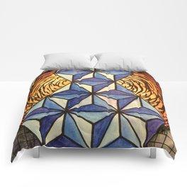 Geo Space Comforters
