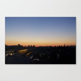 Proof of a Happy Evening... Canvas Print