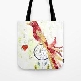 Unique Bird Tote Bag