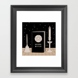 Bell, Book & Candle Framed Art Print
