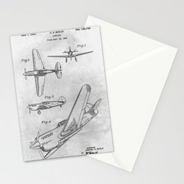 1942 Airplane Stationery Cards