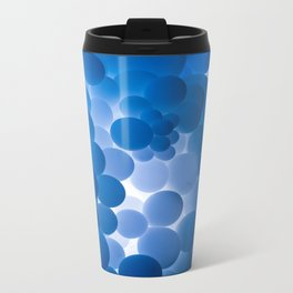 Blue Balloons Metal Travel Mug