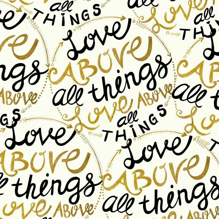 Love Above All Things Leggings