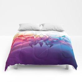 Zelda Triforce colorful Diamond Comforters
