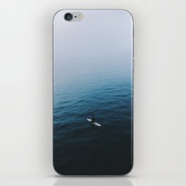 Solo Surfer iPhone Skin