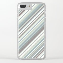 Just Stripes 2 Clear iPhone Case