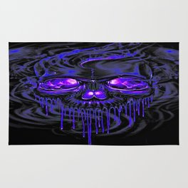 Purple Nurpel Skeletons Rug